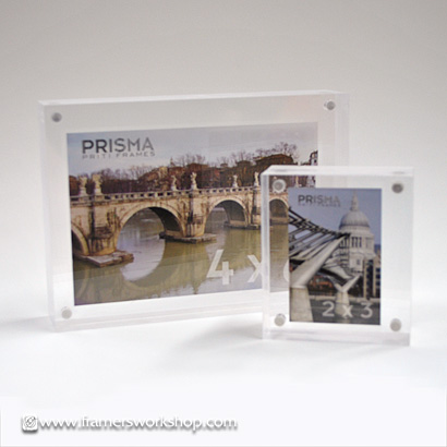 Crystal Priti Transparent Prisma Photo Desk Frames at The Framer\'s ...