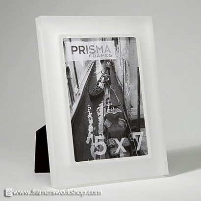 prisma photo desk frames perla sanded snow