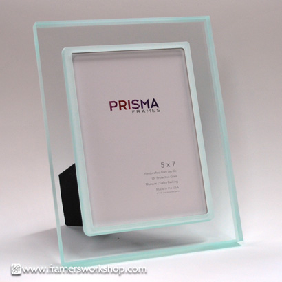 prisma photo desk frames premio sea clear transparent white lip