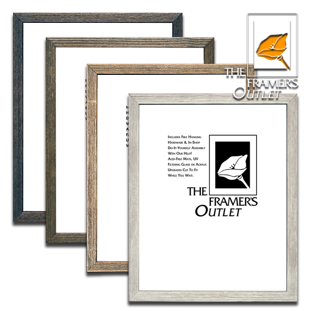 Rustic wood ready made frames at the framers outlet berkeley san rustic ready made frames solutioingenieria Choice Image