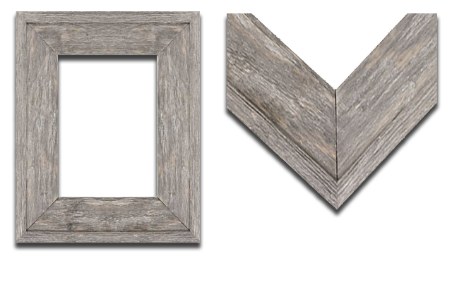 Rustic Wood Ready-Made Frames at The Framer\'s Outlet, Berkeley, San ...